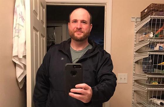 Мужчина кардинально изменился после 3 лет без алкоголя (фото)