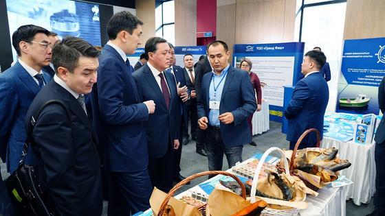 Премьер-Министр РК А. Мамин провел совещание по вопросам развития рыбного хозяйства страны