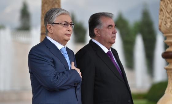 Касым-Жомарт Токаев и Эмомали Рахмон