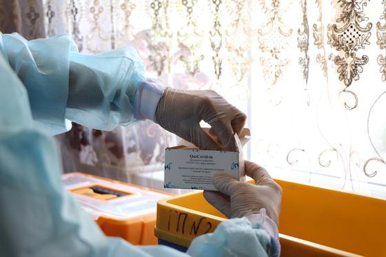 Вакцина казахстанского производства
