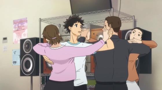 Кадр из аниме «Добро пожаловать в бальный зал»
