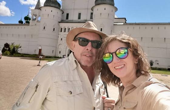 Андрей Макаревич и Эйнат Кляйн. Фото: instagram.com/_einatklein