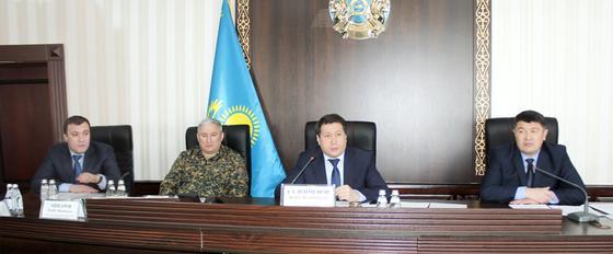 Жанат Сулейменов посетил исправительные учреждения Жамбылской области