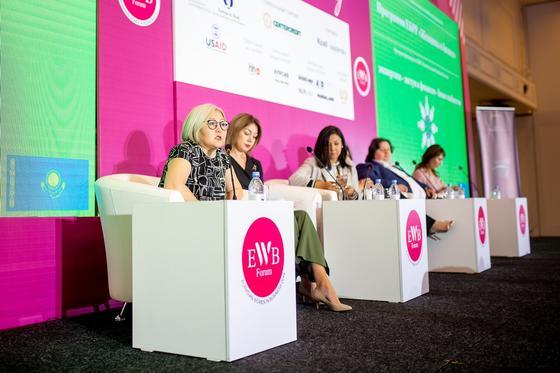 Первый шаг к гендерному равенству в Казахстане – это активное участие женщин в бизнесе
