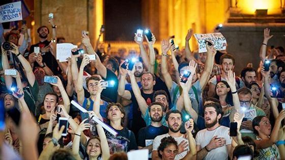 Митинг в Тбилиси завершился без эксцессов