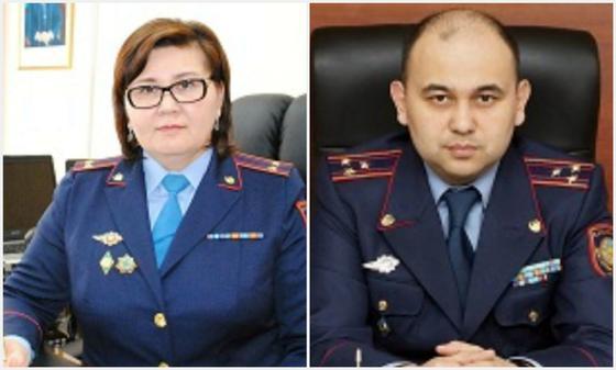 КНБ задержал высокопоставленных полицейских в Акмолинской области