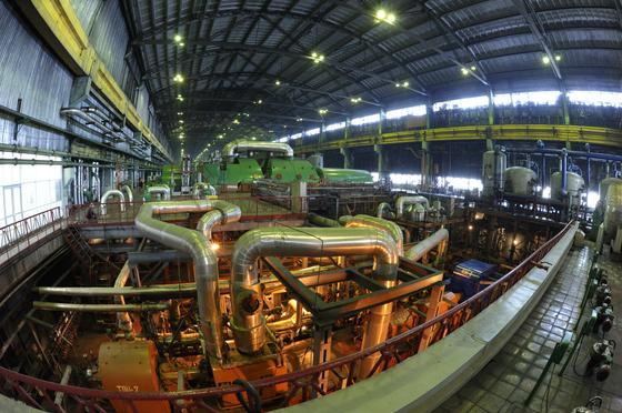 Индустриальная зона