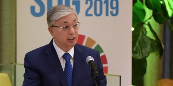 Токаев выступил на Форуме высокого уровня по вопросам устойчивого развития
