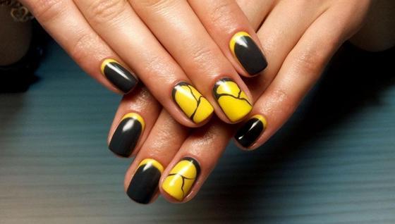 Красивый дизайн ногтей на короткие ногти