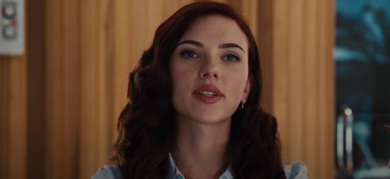 Скарлетт Йоханссон в кинофильме «Железный человек 2»