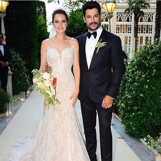 Турецкая актриса Фахрие Эвджен: свадьба