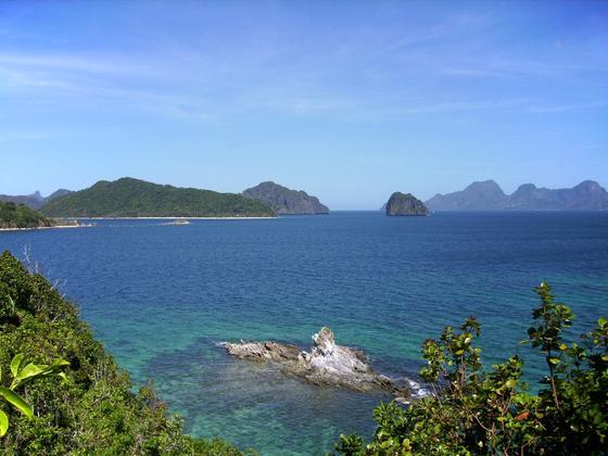 побережье острова палаван