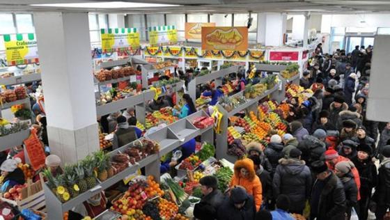 Цены на продукты питания в Астане удается сдерживать благодаря контролю акимата