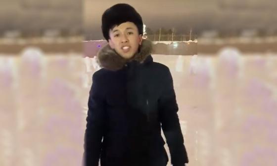"""Опубликован новый видеоролик с """"разрушителем снеговиков"""" из Нур-Султана"""