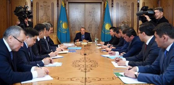 Назарбаев дал поручения канцелярии Первого Президента