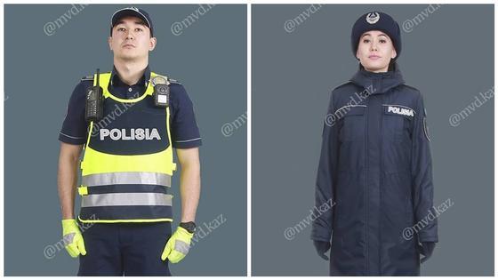 """Написание слова """"рolisia"""" на новой форме полицейских прокомментировало МВД"""