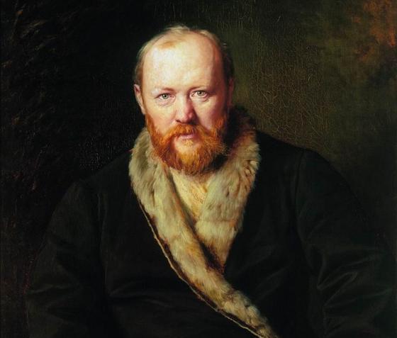 Александр Николаевич Островский, портрет