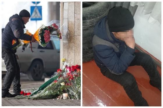Арестован мужчина, решивший унести возложенные жертвам авиакатастрофы цветы