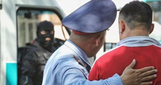 Ограбление магазина попало на видео в Нур-Султане