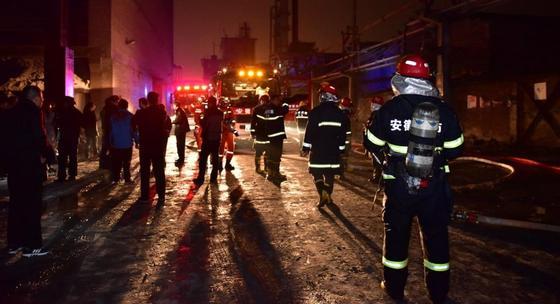 Число жертв взрыва на химзаводе в Китае возросло до 64 человек