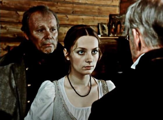 Кадр из фильма «Станционный смотритель»