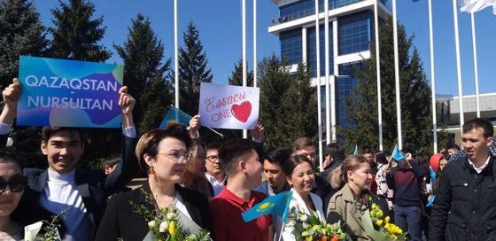 Токаев в Алматы