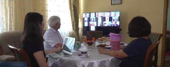 Жених в Корее, невеста в Уральске: казахстанцы провели той онлайн