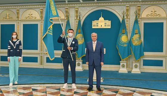 Касым-Жомарт Токаев и Камшыбек Кункабаев