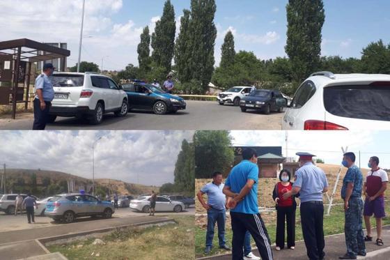Блокпосты выставили у зон отдыха в Туркестанской области
