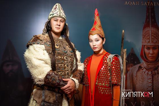 Саки, копья и цари: в кинотеатре Kinopark 16 Forum прошел показ фильма «Томирис»