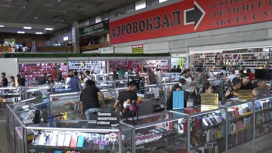 Краденые сотовые телефоны ищут полицейские в торговых домах Алматы
