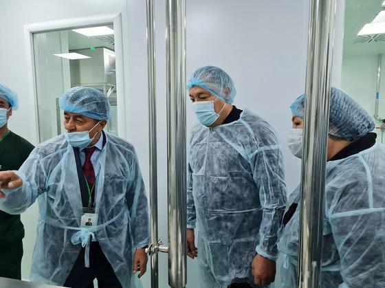 Запуск второй площадки по производству вакцины QazVac