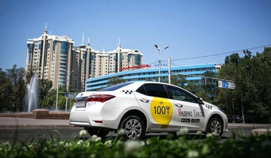 Яндекс.Такси: куда ездили на такси в Алматы в 2018 году