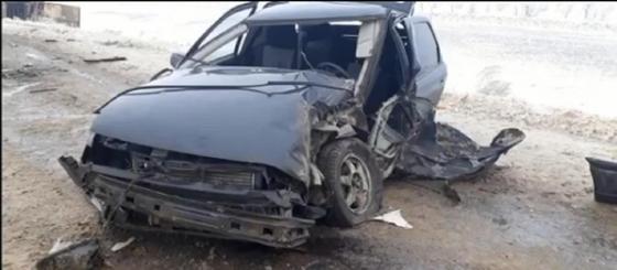 Младенец и четверо взрослых пострадали в жутком ДТП на трассе Самара-Шымкент