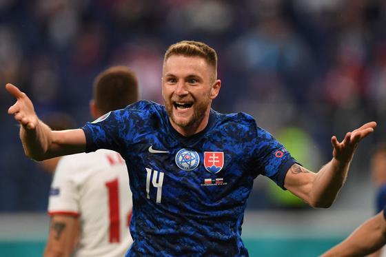 Милан Шкриньяр приносит победу Словакии