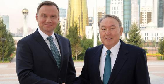 Нурсултан Назарбаев и Анджей Дуда договорились о продолжении регулярных контактов в будущем