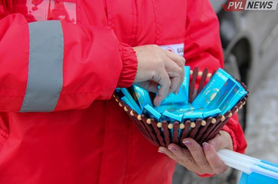 Встретили шоколадом в Павлодаре