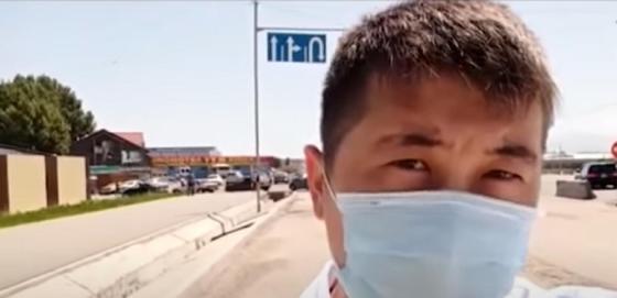 Алматы облысындағы блок-бекетті қалай айналып өтуге болады (видео)