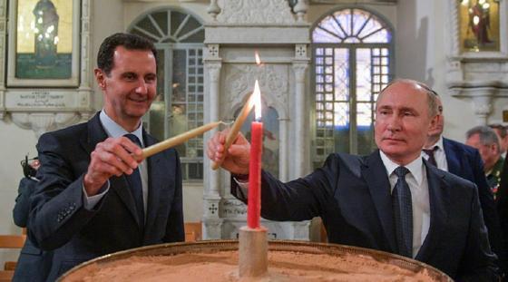 Путин слетал к Асаду в Дамаск. Они обсудили войну и мир