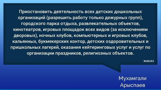 Карантин усилил в ряде регионов Казахстана