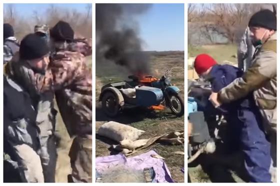 Драку браконьеров с инспекторами близ Атырау сняли на видео