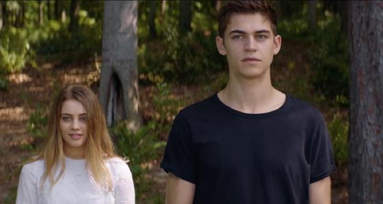 Тесса и Хардин из фильма После в лесу