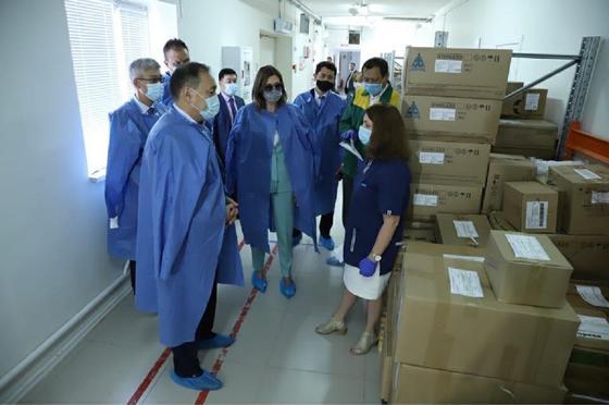 Тугжанов прибыл с рабочим визитом в Мангистаускую область