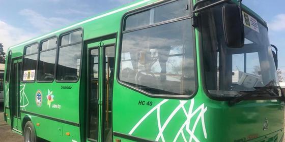 В Алматы обновили автобусы на маршруте №60