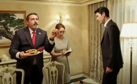 Кадр из фильма «Стальной дождь 2: Саммит»