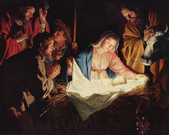 Рождество. Стойло. Вифлеем. Рождение Спасителя