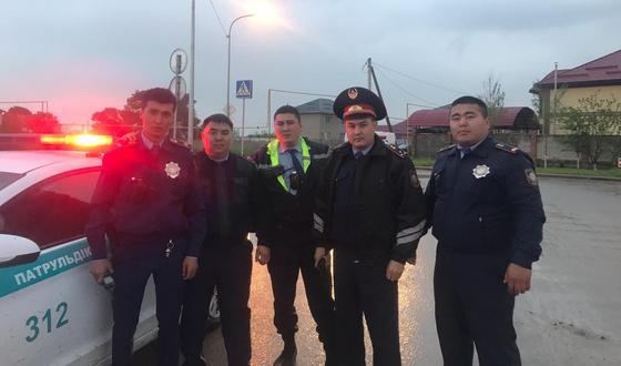 Фото: Алматы полициясының баспасөз қызметінен