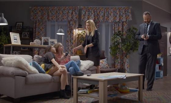 Кадр из сериала «Папа рулит»