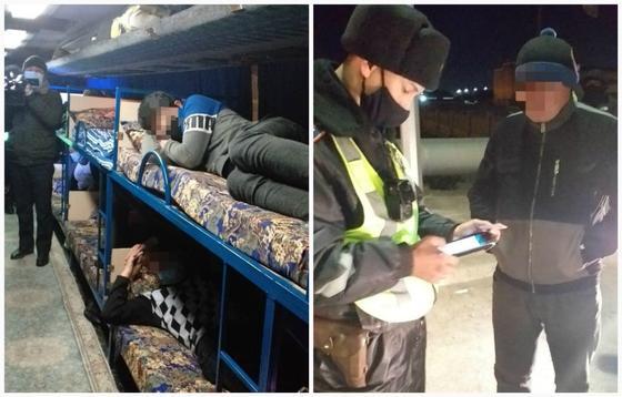 Автобус задержали в Атырауской области