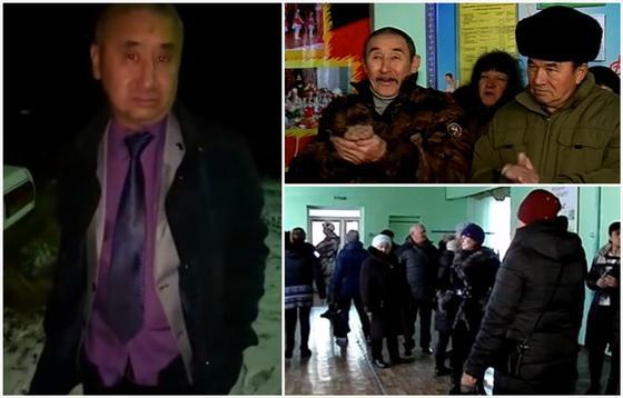 Жители требуют вернуть акима, уволенного за пьяную езду в СКО